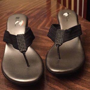 White mountain sandals size 91/2
